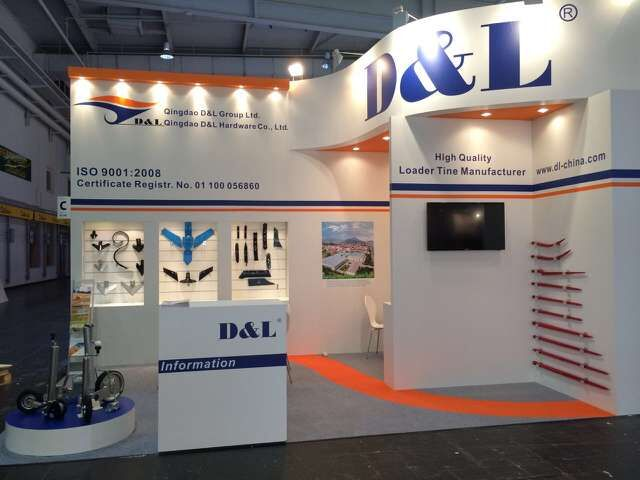 This is our stand in the Agritechnica 2015 in Hanover. Perfect!